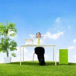 Natuurlijke elementen verminderen werkstress